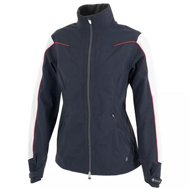 Galvin Green Ladies Aino Waterproof GORE-TEX Jacket Navy - White - Azalea
