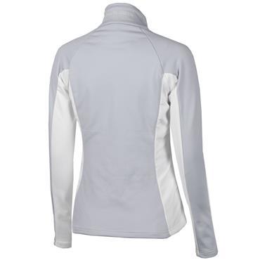 Galvin Green Ladies Davina Zip Insula Sweater Grey - White