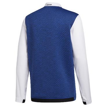 adidas Gents Cold.Rdy Jacket Royal Blue Mel - White