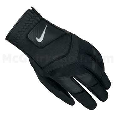 Nike Gents Durafeel Golf Glove Left Hand Black - White - Anthracite