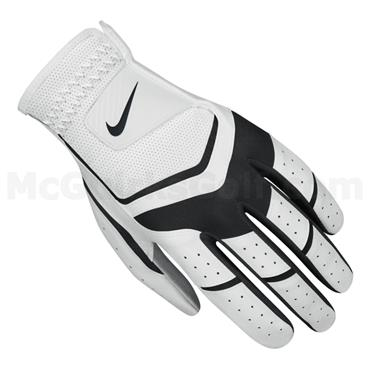 Nike Gents Durafeel Golf Glove Left Hand White - Black - Grey