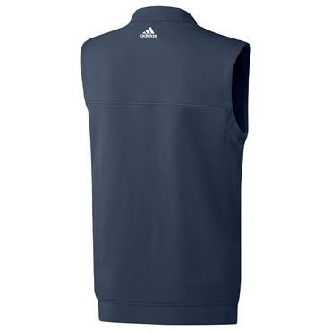 adidas Gents ¼ Zip Vest Crew Navy