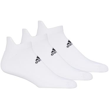 adidas Gents Ankle 3-Pack Socks White