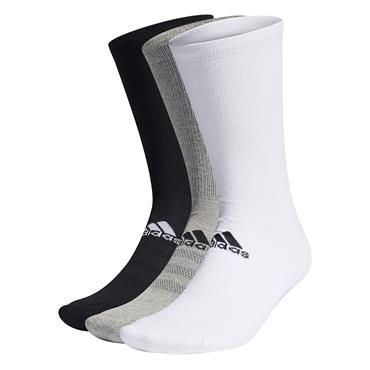 adidas Gents Crew 3-Pack Socks