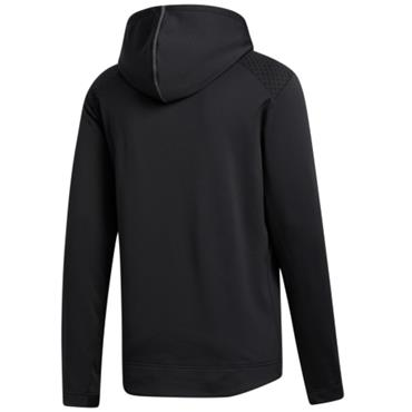 adidas Gents Cold Hooded Top Black