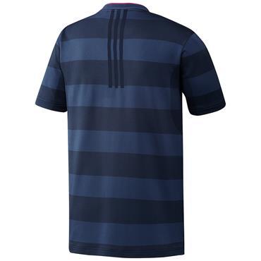 adidas Gents PrimeKnit Polo Shirt Crew - Navy