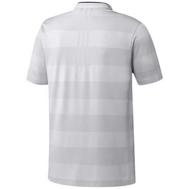 adidas Gents Primeknit Polo Shirt White - Grey One