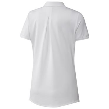 adidas Ladies Ultimate365 Solid Polo Shirt White