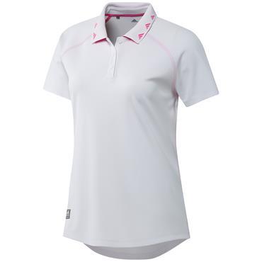 adidas Ladies Equipment Primegreen Polo Shirt White