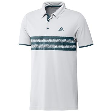 adidas Gents Core Polo Shirt White - Crew Navy