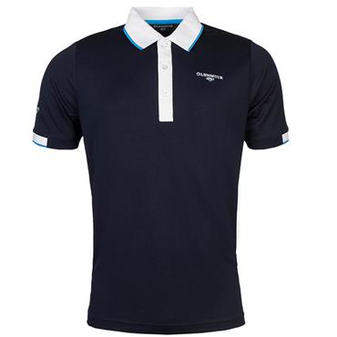 Glenmuir Gents Contrast Tipping Polo Shirt Midnight Blue