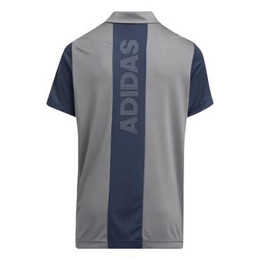 adidas Junior - Boys Stripe Colour Block Polo Shirt Crew Navy