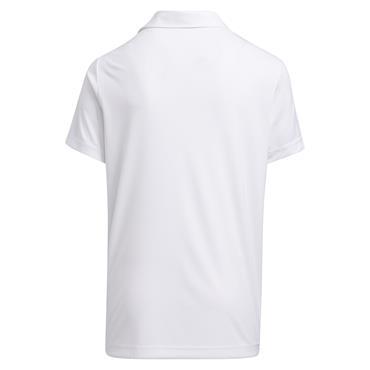adidas Junior - Boys Digital Camouflage Polo Shirt White