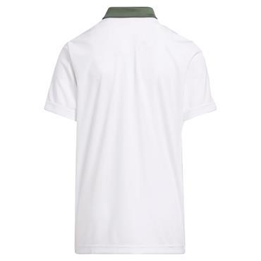 adidas Junior - Boys Printed Polo Shirt Green Oxide