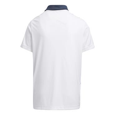 adidas Junior - Boys Printed Polo Shirt Crew Navy