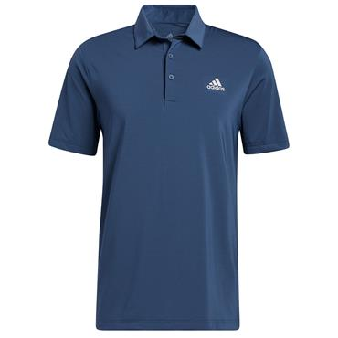 adidas Gents Ultimate365 Solid Left Chest Polo Shirt Crew Navy
