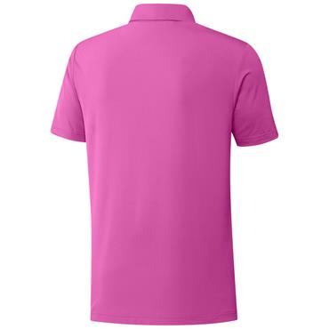 adidas Gents Ultimate365 Solid LC Polo Shirt Screaming Pink
