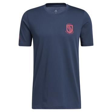 adidas Gents Champ T-Shirt Crew Navy