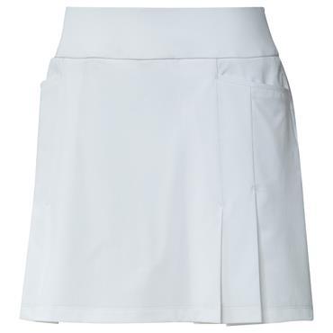 adidas Ladies Ultimate365 Primegreen Pleated Skort White
