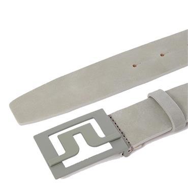 J.Lindeberg Gents Slater 40 Leather Belt Grey