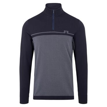 J.Lindeberg Gents Jo Seamless Midlayer Sweater Navy