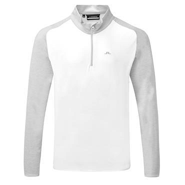 J.Lindeberg Gents Henry Golf Mid Stone Grey - Melange
