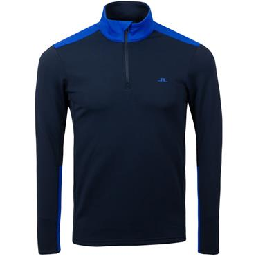 J.Lindeberg Gents Garry Mid Layer Top Pop Blue