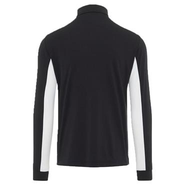 J.Lindeberg Gents Ethan Slim Fit Long Sleeve Polo Shirt Black