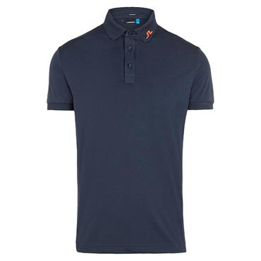 J.Lindeberg Gents KV Reg Fit Polo Shirt Navy