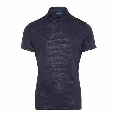 J.Lindeberg Gents Pine Slim Fit Polo Shirt Navy
