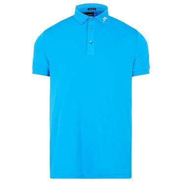 J.Lindeberg Gents Tour Tech Reg Fit Polo Shirt Blue
