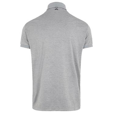 J.Lindeberg Gents Tour Tech Reg Fit Polo Shirt Grey