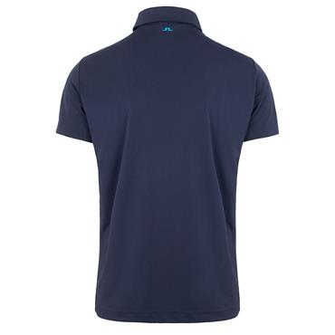J.Lindeberg Gents Clark Regular Fit Polo Shirt Navy