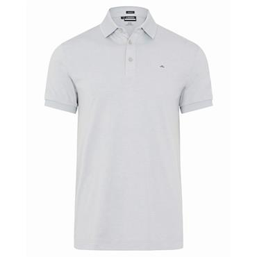 J.Lindeberg Gents Stan Regular Fit Polo Shirt Stone Grey Melange