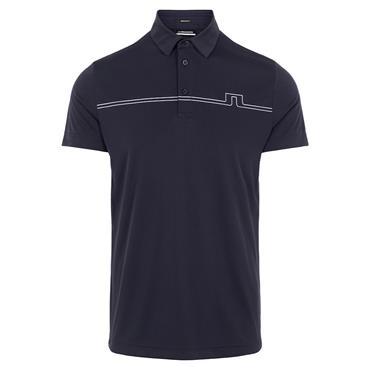 J.Lindeberg Gents Clay Reg Fit Polo Shirt Navy