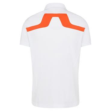 J.Lindeberg Gents KV Regular Fit Polo Shirt White