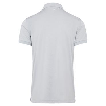 J.Lindeberg Gents Tour Tech Regular Fit Polo Shirt Stone Grey Melange