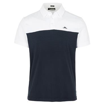 J.Lindeberg Gents Owen Slim Fit Polo Shirt Navy