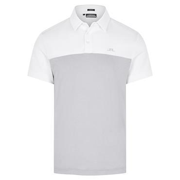 J.Lindeberg Gents Owen Slim Fit Polo Shirt Stone Grey Melange