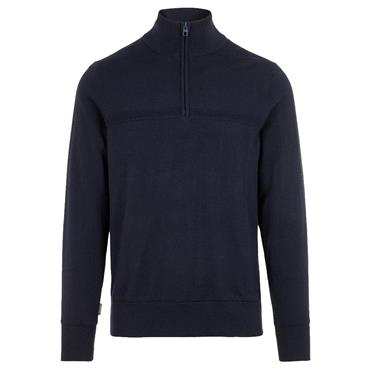 J.Lindeberg Gents Columba Virgin Wool Sweater Navy