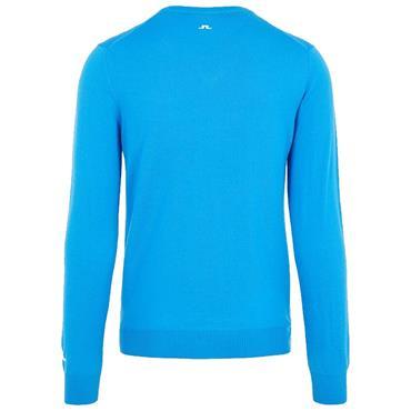 J.Lindeberg Gents Lymann Tour Merino Sweater Blue