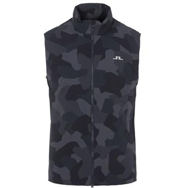 J.Lindeberg Gents Packlight Vest Navy Camo