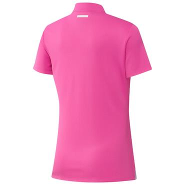 adidas Ladies Primegreen Heat.Rdy Polo Shirt Screaming Pink
