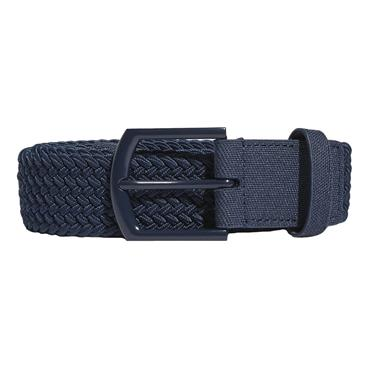 adidas Gents Braided Stretch Belt Crew Navy