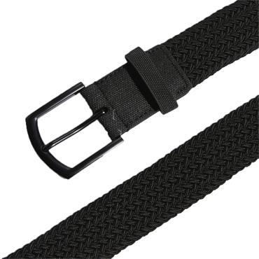 adidas Gents Braided Stretch Belt Black