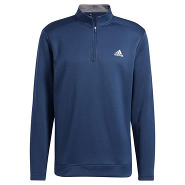adidas Gents Club ¼ Zip Sweatshirt Crew Navy