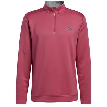 adidas Gents Club ¼ Zip Layer Wild Pink