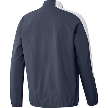 adidas Gents Primegreen Printed 1/4 Zip Top Navy - Black