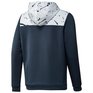 adidas Gents PrimeBlue Cold.Rdy ½ Zip Anorak Hoodie Crew Navy - White