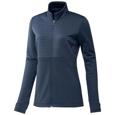 adidas Ladies Primegreen Cold.Rdy Full-Zip Jacket Crew Navy